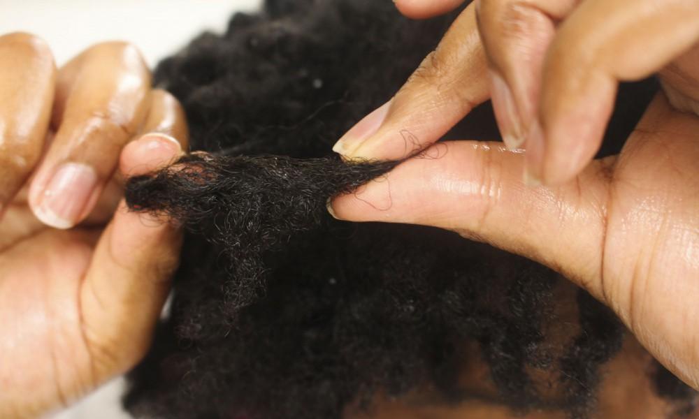How To Detangle 4C Natural Hair