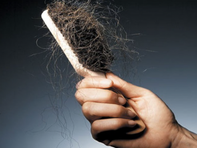 Broken Hair in a Brush