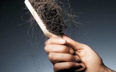 Broken Hair in a Brush